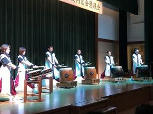 和太鼓パフォーマンスチーム「婆娑羅」の演奏