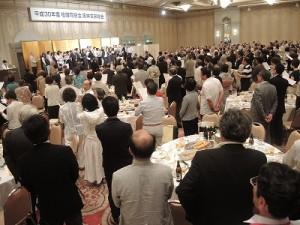 平成30年度 柏陵同窓会阪神支部の総会 懇親会