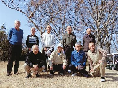 ゴルフコンペ 50回記念大会 柏原高S36年卒